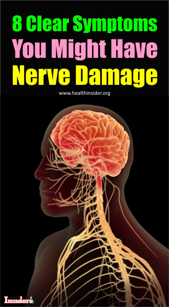 Following are the symptoms that you can judge the nerve damage before getting diagnosed by the doctor.