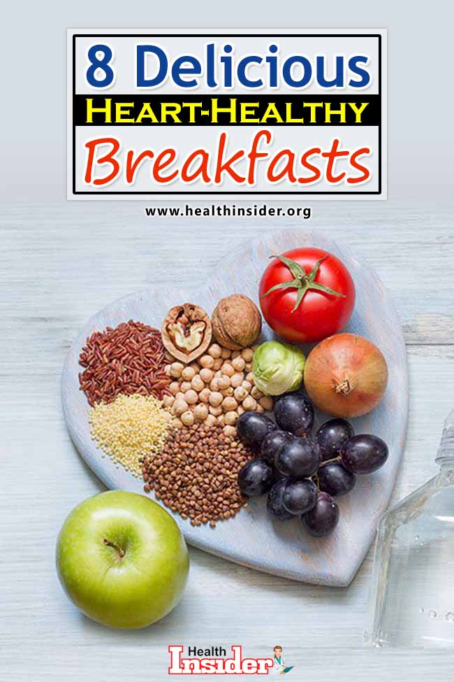 These heart healthy breakfasts are a smart way to start your day. #breakfastideas #hearthealthydiet