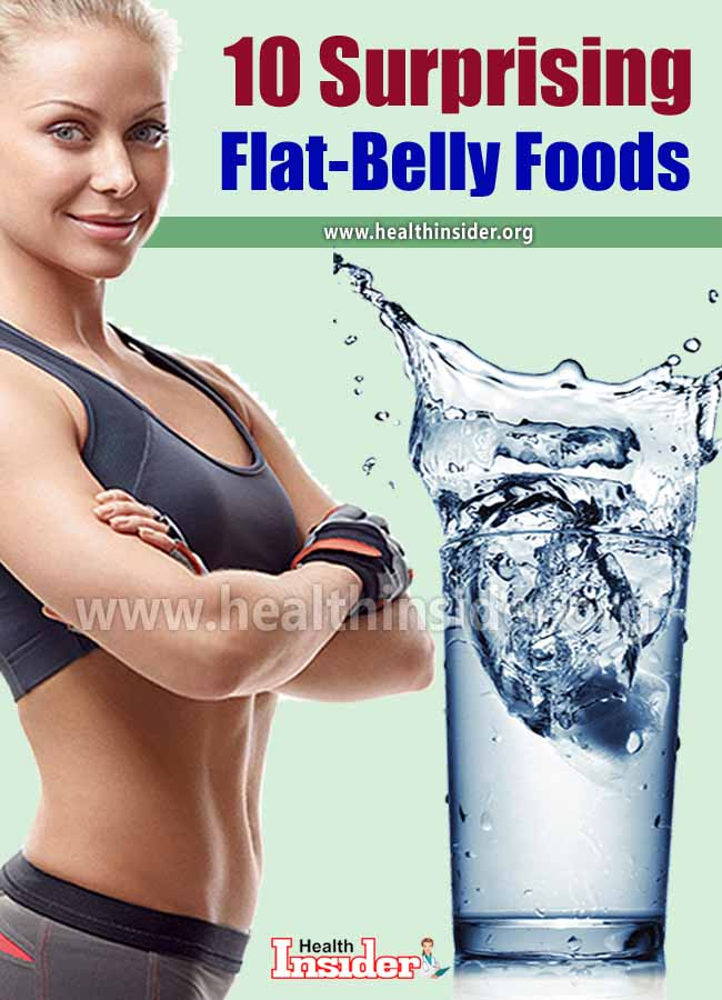 Looking to flatten your belly? Read on to learn about 10 flat-belly foods to get you the lean midsection you're looking for. #weightloss #healthyeating #flattummydiet