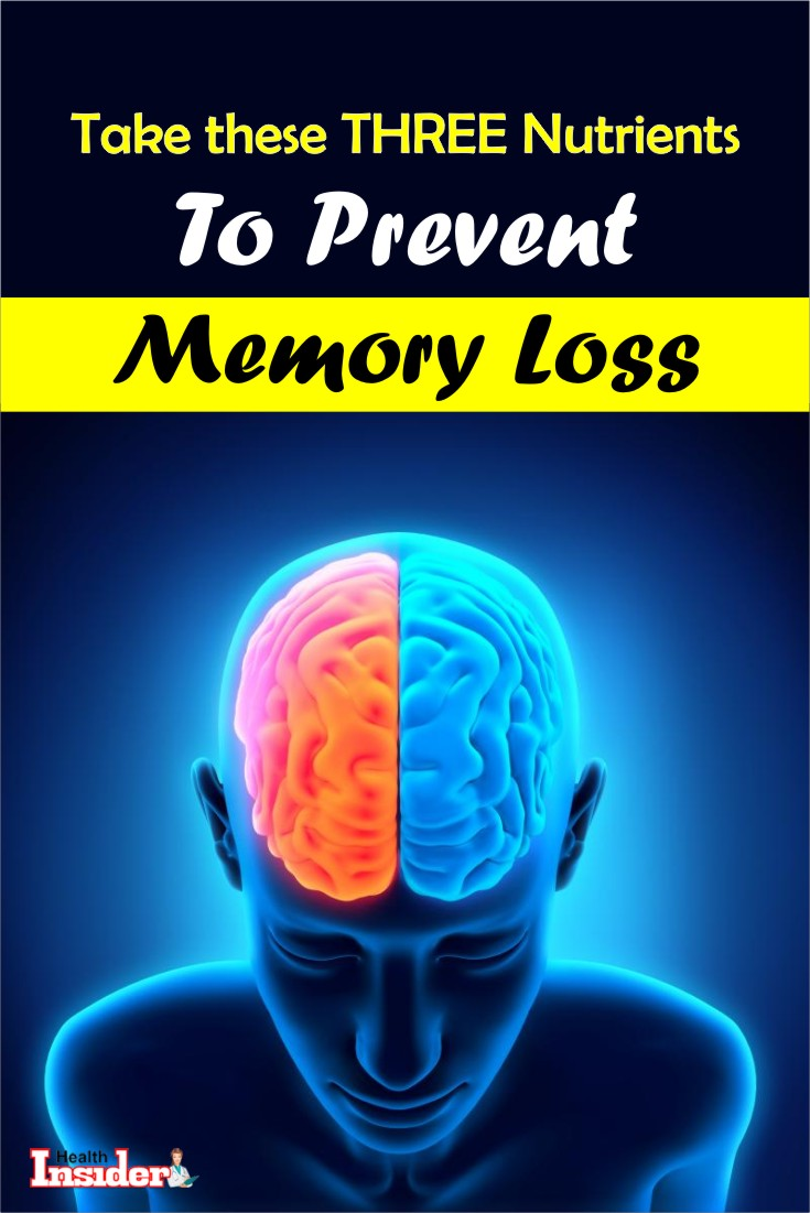 We've put together all three of the essential brain-fortifying nutrients that you must add to your daily diet right away. #brainhealth #memoryloss