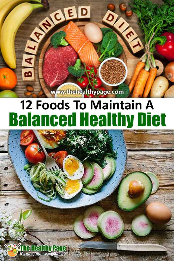 A Balanced Diet and Your Health