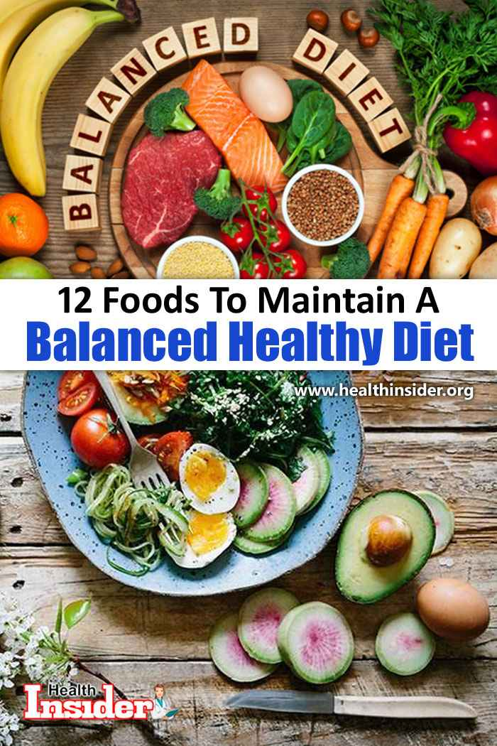 Here are 12 best superfoods that are loaded with heaps of beneficial nutrients to help you create a well-balanced diet. #healthyeating #healthyfood #balanceddiet