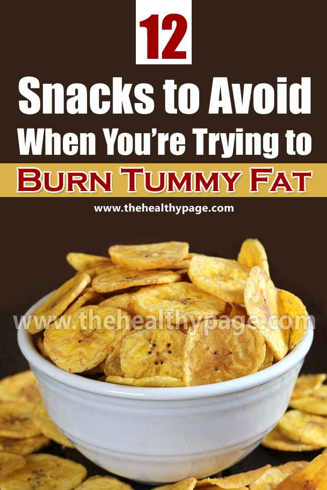 Foods avoid eating when losing weight