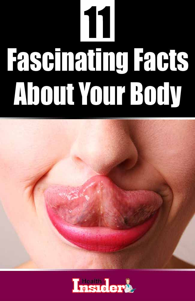 Check out these 11 amazing facts about human body. #interestingfacts #interestingthings