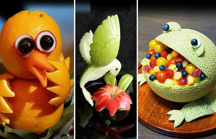 Easy Fruit Carving Ideas for Beginners