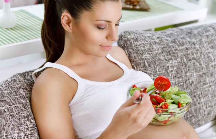 Eat Right to Stay Healthy in Pregnancy