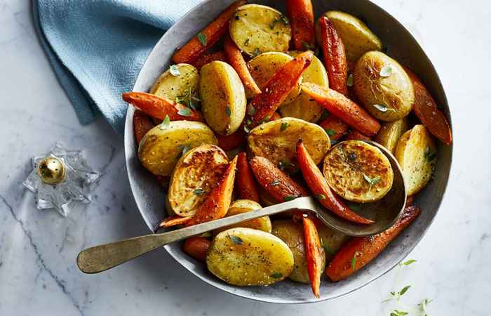 Carrots & Potatoes Swap Carbs with Vegetables
