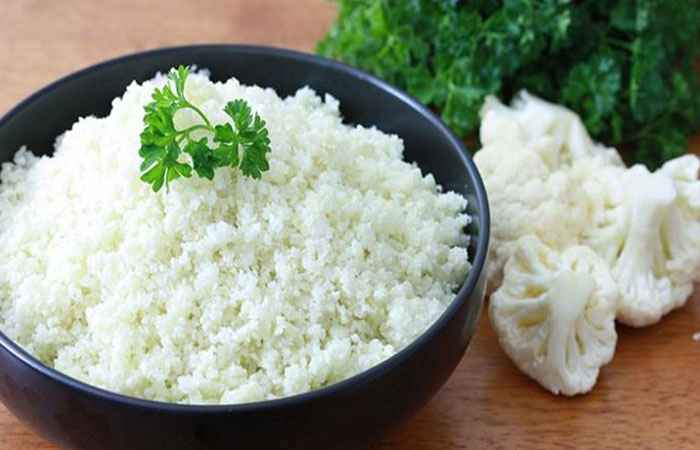 Cauliflower Rice Swap Carbs with Vegetables