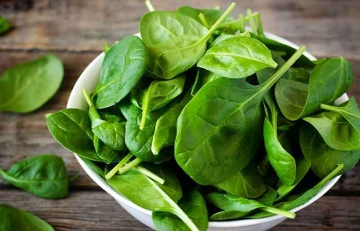 Spinach to rectify your skin problems