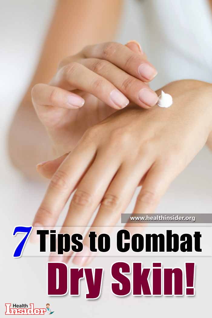 To combat dry skin issue and prevent its return, dermatologists recommend the following 7 tips. #skincare #skincareroutine