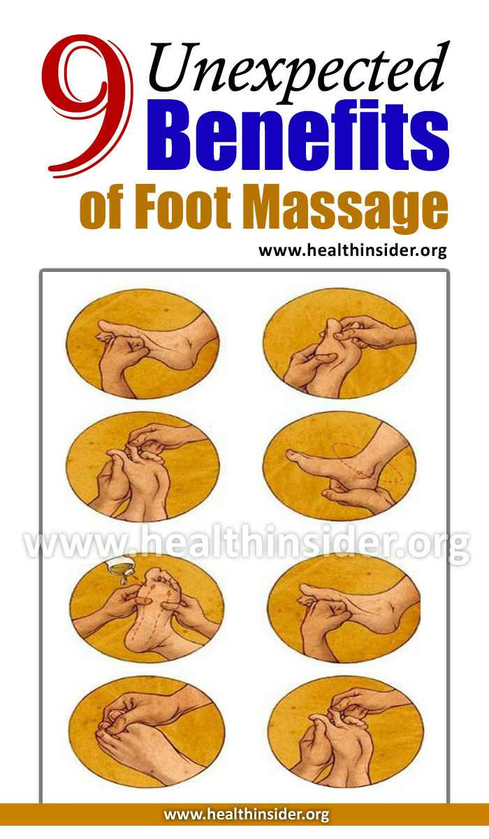 9 Unexpected Benefits of Foot Massage