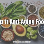 Eat more of these 11 anti-aging foods to get naturally glowing skin. #skincare #antiaging