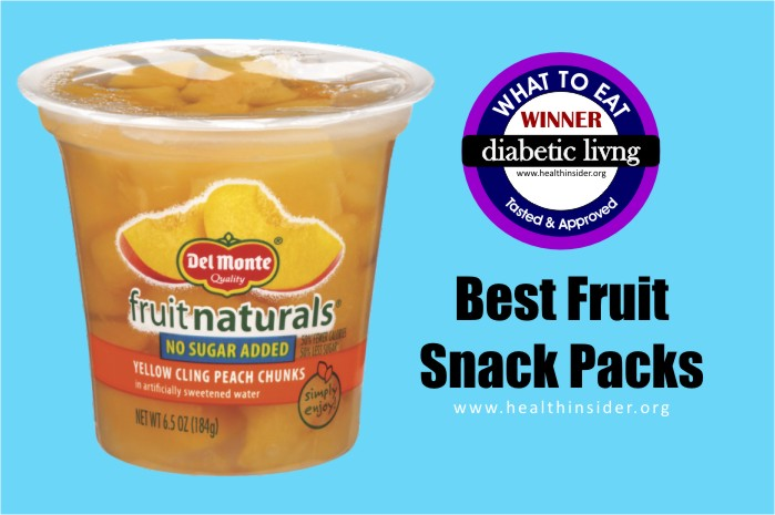 Best Fruit Snack Packs for Diabetics