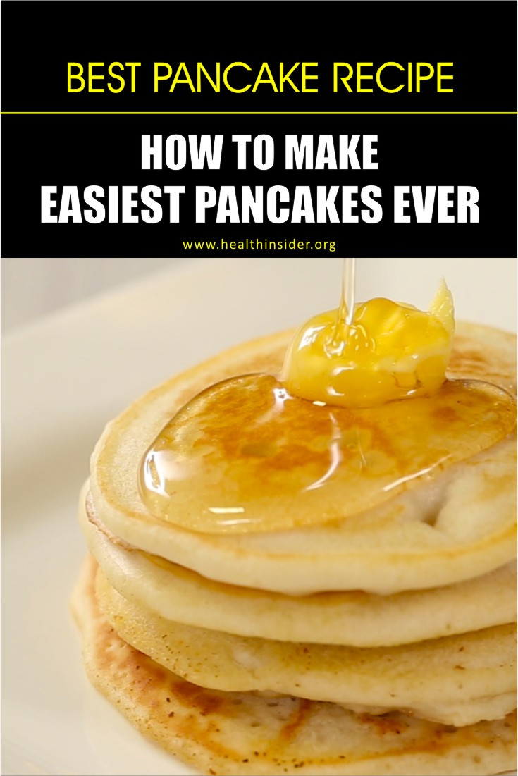 Here is the easiest homemade pancake recipe that makes for the best breakfast.