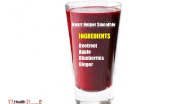 This this Beetroot Apple and Ginger Smoothie Recipe to boost heart health naturally.