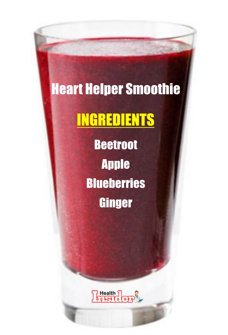 Try this heart helper smoothie recipe to boot heart health.