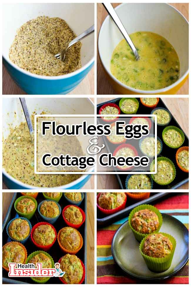 Flourless Egg Cottage Cheese Muffins