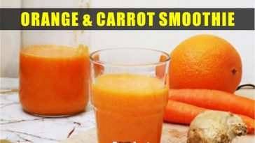 Orange and Carrot Smoothie for Skin